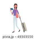 ベクター クレジットカード 旅行のイラスト 49303550