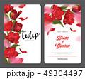 チューリップ チューリップ 花のイラスト 49304497