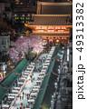 浅草寺の桜 49313382