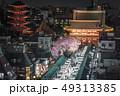 浅草寺の桜 49313385