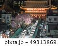 浅草寺の桜 49313869