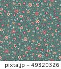 植物 更紗 柄のイラスト 49320326