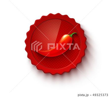 Hot chili pepper. 49325373