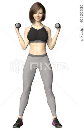 トレーニング 女性 ダンベル