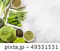 野菜 グリーン 緑の写真 49331531