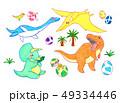 白亜紀後期恐竜セット 49334446