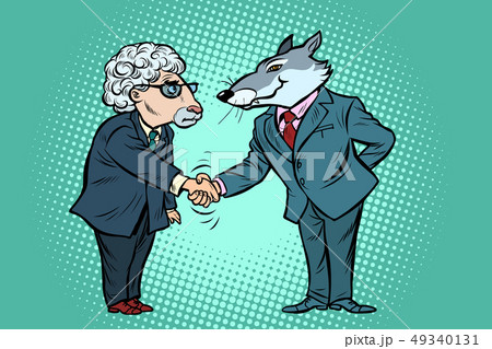 wolf and sheep business negotiations, friendship 49340131