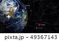 グローバル 地球 ネットワークのイラスト 49367143