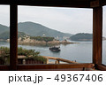 對潮楼から弁天島を望む、鞆の浦、福山市、広島県 49367406