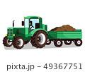 トラクター 作業車 執着のイラスト 49367751