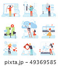 人々 人物 テクノロジーのイラスト 49369585