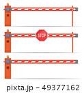 parking car barrier gate set 49377162