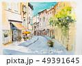 ヨーロッパの街並み 49391645