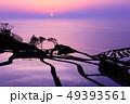 【石川県】白米千枚田の夕景 49393561