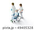 医者 ナース 患者のイラスト 49405328