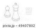ベクトル ジオメトリック 幾何学的のイラスト 49407802