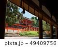 春日大社、幣殿から眺める中門、奈良県 49409756