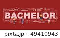 Design Concept Of Word Bachelor Website Banner. 49410943