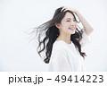 女性 1人 笑顔の写真 49414223