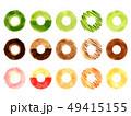 ドーナツ お菓子 洋菓子のイラスト 49415155