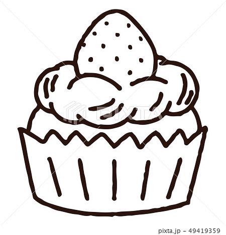 ケーキ イラスト カップ