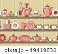 Rustic kitchen seamless pattern 49419630