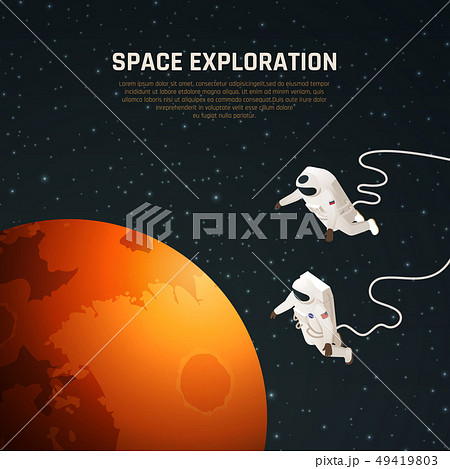 Space Exploration Background 49419803