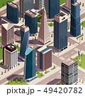 建築物 アーバン 都会的のイラスト 49420782