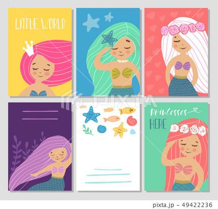 Beautiful and cute mermaids. 49422236