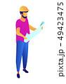 エンジニア 技術者 技師のイラスト 49423475