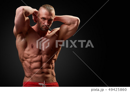 Fitness in gym, sport and healthy lifestyleの写真素材 [66819515] - PIXTA