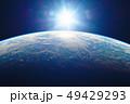 地球と太陽 49429293