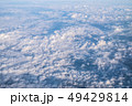 Blue sky background with cloudy 49429814