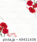 背景 カーネーション 母の日のイラスト 49431436