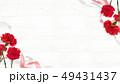 背景-カーネーション-母の日-白壁 49431437