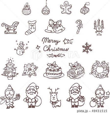 クリスマスアイコン 49431515