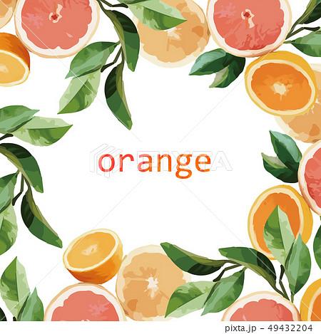 オレンジ色 オレンジ 橙 49432204