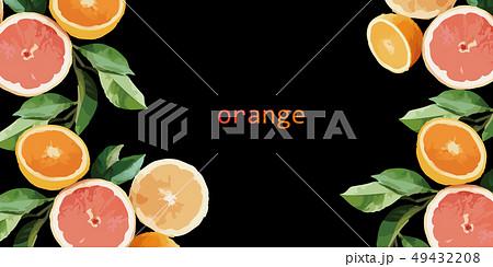 オレンジ色 オレンジ 橙 49432208