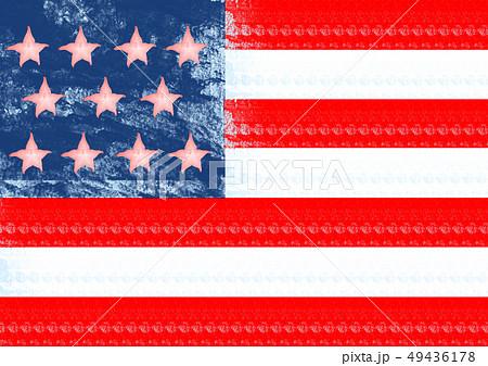 An alternative flag. Modern design. Contemporary art collage. 49436178