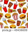 食 料理 食べ物のイラスト 49436699