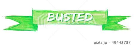 busted ribbon 49442787