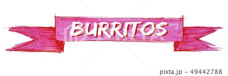 burritos ribbon 49442788