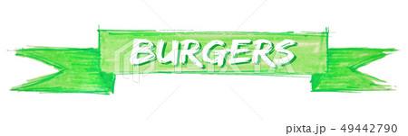 burgers ribbon 49442790