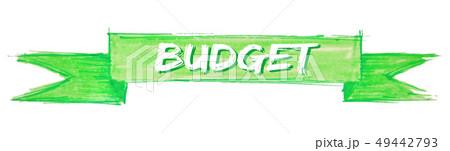 budget ribbon 49442793