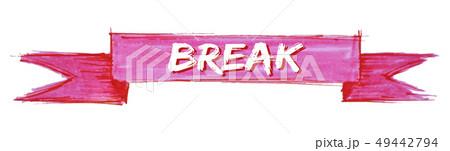 break ribbon 49442794