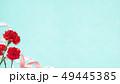 背景-カーネーション-母の日-ブルー 49445385