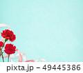 背景-カーネーション-母の日-ブルー 49445386