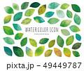 葉 水彩 木の葉のイラスト 49449787