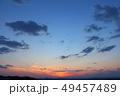 夕景 夕焼け 風景の写真 49457489