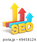 SEO Search engine optimization arrows 3D 49458124